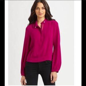 DVF Blair silk blouse 8
